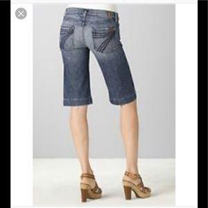 🌸 7 for all mankind dojo short jeans 28